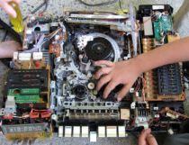 Taking apart electronics