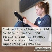 Using Distraction to Help Sick Kids Cope