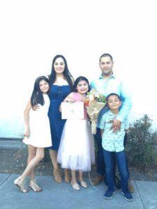 Fernanda with family