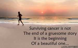 image with text on survivorship